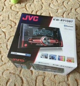 Магнитола JVC KW-R910BT 2DIN с USB и Bluetooth
