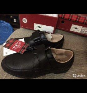 Новые ботинки для мальчика кожа