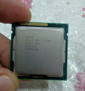 Процессор LGA-1155 intel core-i7, 2600k, 3,4GHz.