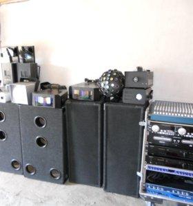 Музыкальная и световая Аппаратура для торжеств