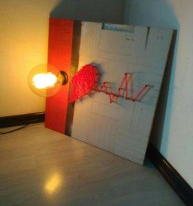 Арт светильник