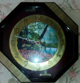Часы настенные с шелкографией