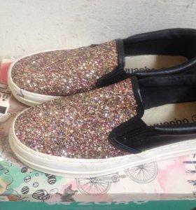Слипоны обувь 38