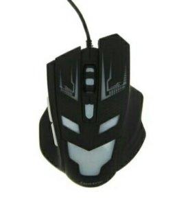 Мышка игровая LuazON L-062, оптическая, подсветка