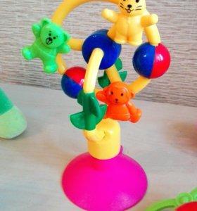 Игрушки-погремушки развивалки