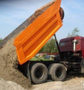 Доставка песка,щебня,торфа и.т.д!