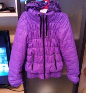 Курточка на рост 116-122см.