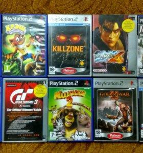 Диски для игры PS2