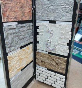 Камни декоративные, фасадные и для интерьера.
