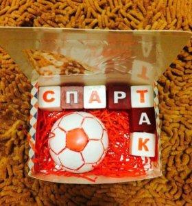 Мыло ручной работы с футбольными командами