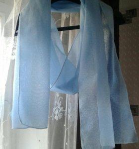 Шифоновый шарф/нежный палантин