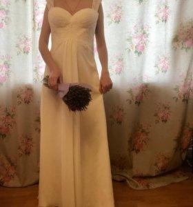 Свадебное платье в греческом стиле! Новое!