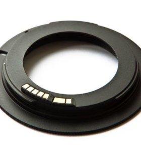Переходное кольцо m42 для Canon