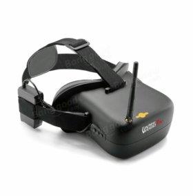 Шлем с дисплеем.Для полетов по FPV.Новый.