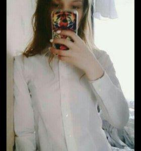 Рубашечка беленькая