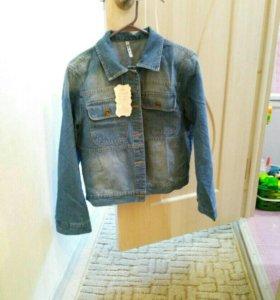 Джинсовая куртка новая