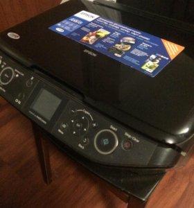 Принтер, сканер, копир, карт-ридер.