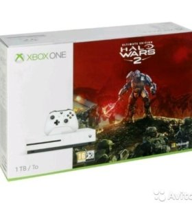 XBOX One S 1Tb+ HALO Wars 2 (обмен)