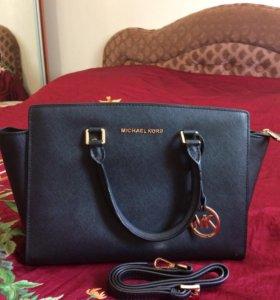Michael Kors, кожанная сумка