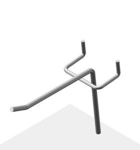Крючки для перфорированных стендов