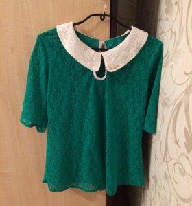 Майка+ (накидка-блузка)