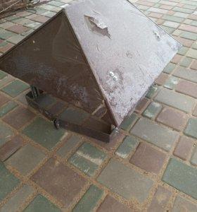 Зонт с ногами и хомутом 380х510