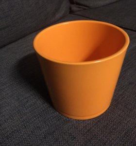 Новое керамическое кашпо для цветов
