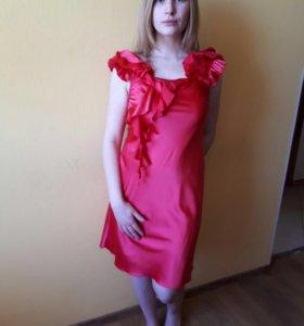 Платье летнее,с открытой спиной