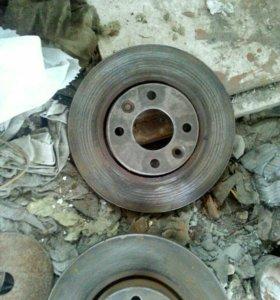 Тормозные диски на рено меган 2