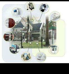 Монтаж и ремонт охранных систем
