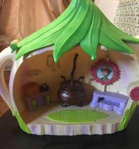 Игрушечный дом-чайник