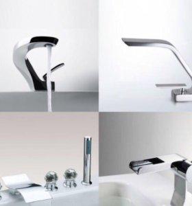 Смесители Дизайнерские.Для раковин,ванны и душа