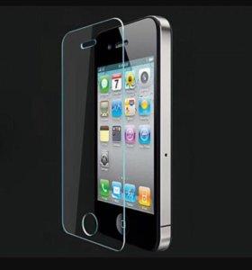 Защитное стекло для IPhone 5/5s/se, 0,33 мм, прозр