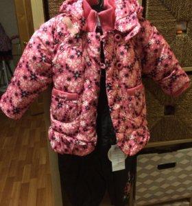 Куртка штаны зима дети 98 рост