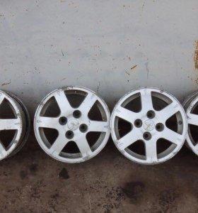 Колесные диски mitsubishi lancer 9 (оригинал)