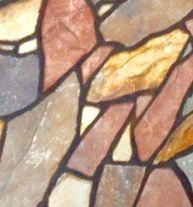 Облицовка декоративным ( ломанным ) камнем