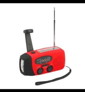Мультитул фонарик-радио-зарядка