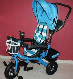 Велосипед детский надувные колеса