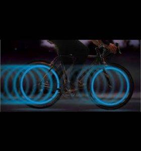Светящиеся наклейки на велосипед и не только