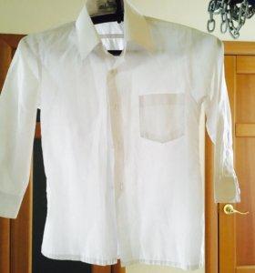 Белая детская рубашка