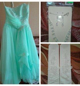 Платье и колье