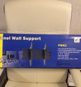 Крепеж телевизора 55 дюймов к стене