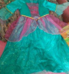 Платье детское - рапунцель