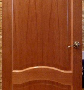 Дверь межкомнатная, отделка натуральным шпоном