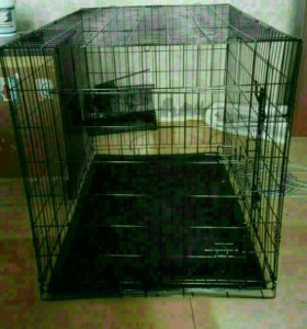 Клетка для собак крупных пород
