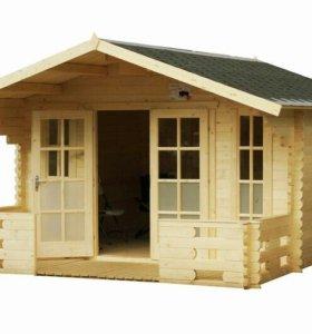 Дачные домики из бруса