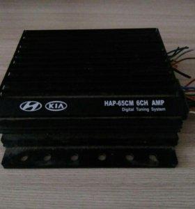 Штатный усилитель для honda, kia (HAP-65CM 6CH AMP