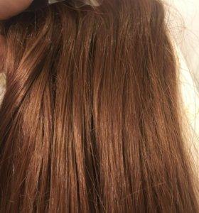 Трессы, волосы на заколках