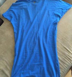 Летнее платье-туника с открытой спиной 👍🏻👍🏻
