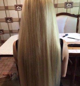 Укладка и наращивание волос